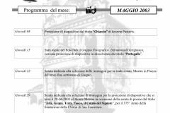 MAGGIO 2003