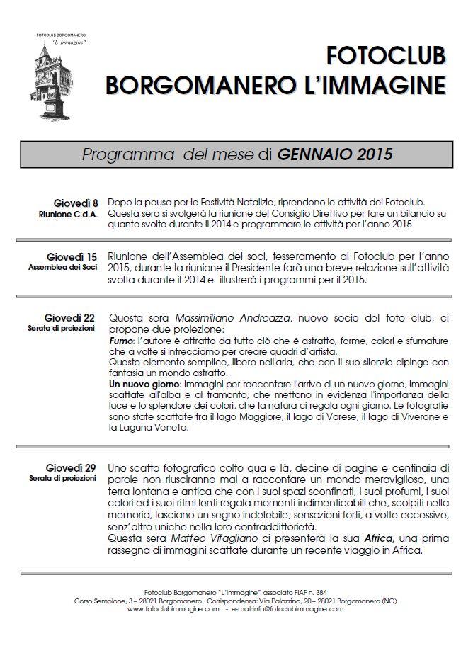 Programma 2015-01