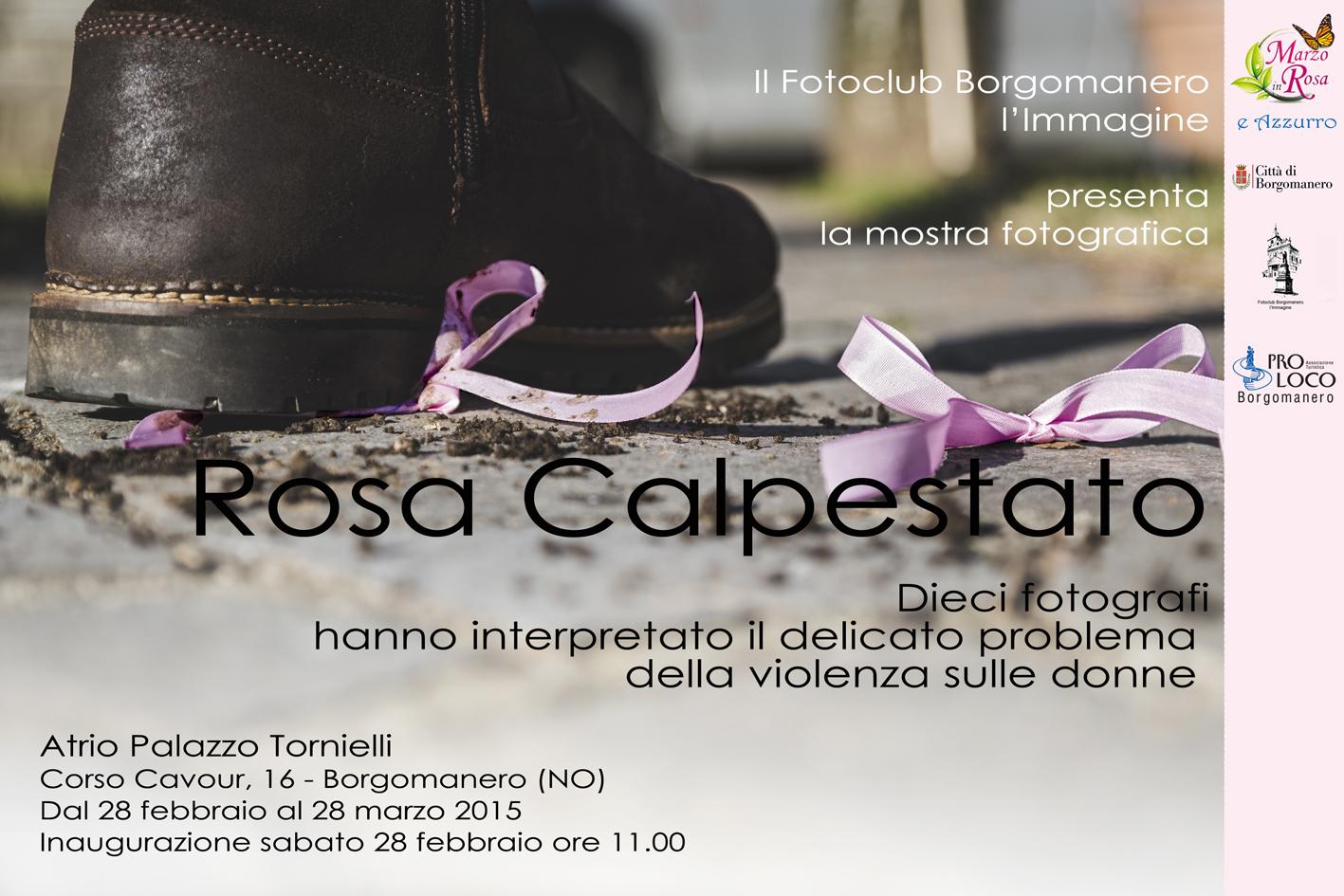 Locandina Rosa Calpestato