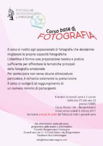 Corso Fotografia 2017