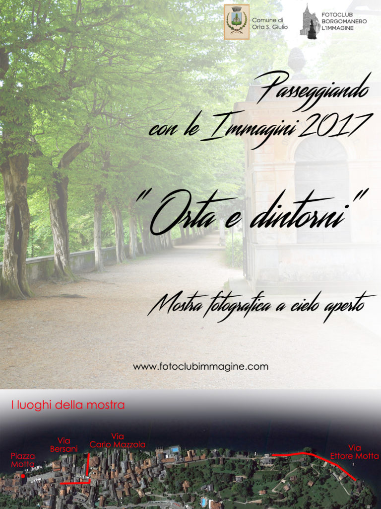 Passeggiando con le Immagini 2017, mostra fotografica presso Orta San Giulio